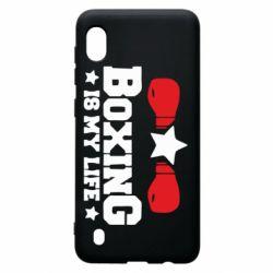 Чохол для Samsung A10 Boxing is my life