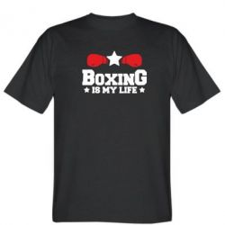 Футболка Boxing is my life