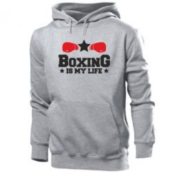 Мужская толстовка Boxing is my life