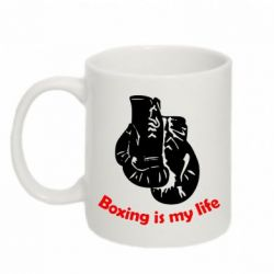 Кружка 320ml Boxing is my life - FatLine
