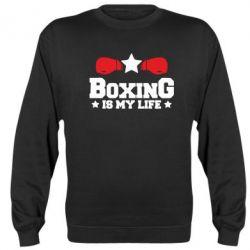 Реглан (світшот) Boxing is my life