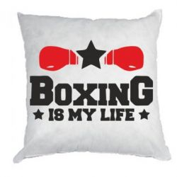 Подушка Boxing is my life