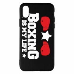 Чохол для iPhone X/Xs Boxing is my life
