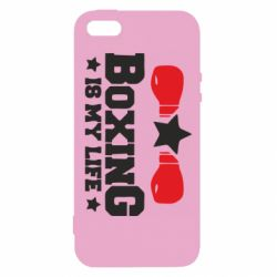 Чохол для iphone 5/5S/SE Boxing is my life