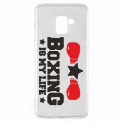 Чохол для Samsung A8+ 2018 Boxing is my life