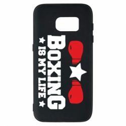Чохол для Samsung S7 Boxing is my life