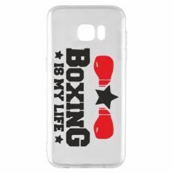 Чохол для Samsung S7 EDGE Boxing is my life