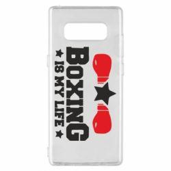 Чохол для Samsung Note 8 Boxing is my life