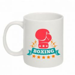 Кружка 320ml Boxing Logo - FatLine