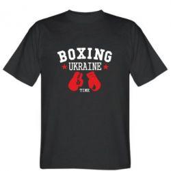 Мужская футболка Boxing Ukraine - FatLine