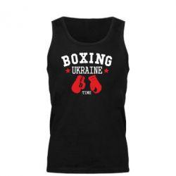 Мужская майка Boxing Ukraine - FatLine