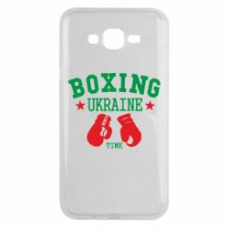 Чехол для Samsung J7 2015 Boxing Ukraine