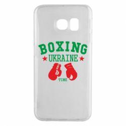 Чехол для Samsung S6 EDGE Boxing Ukraine
