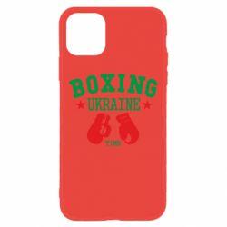 Чехол для iPhone 11 Boxing Ukraine