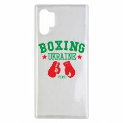 Чехол для Samsung Note 10 Plus Boxing Ukraine