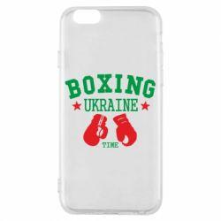 Чехол для iPhone 6/6S Boxing Ukraine