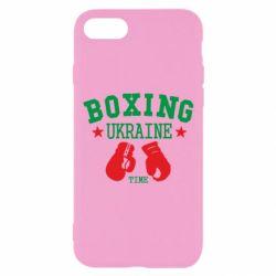 Чехол для iPhone 7 Boxing Ukraine