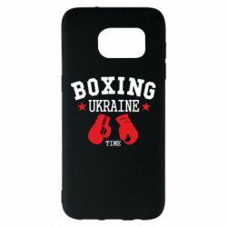 Чехол для Samsung S7 EDGE Boxing Ukraine