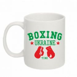 Кружка 320ml Boxing Ukraine - FatLine