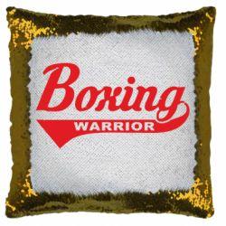 Подушка-хамелеон Boxing Warrior