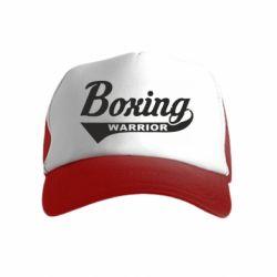 Дитяча кепка-тракер Boxing Warrior