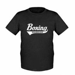 Детская футболка Boxing Warrior