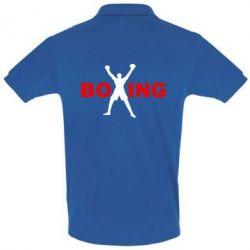 Мужская футболка поло BoXing X