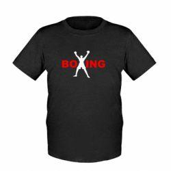 Детская футболка BoXing X - FatLine