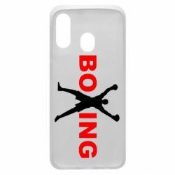 Чехол для Samsung A40 BoXing X