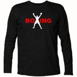Футболка с длинным рукавом BoXing X - FatLine