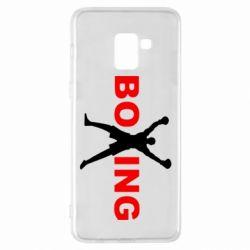 Чехол для Samsung A8+ 2018 BoXing X
