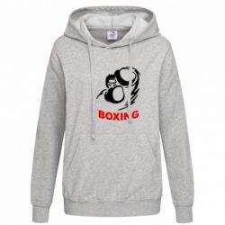 Женская толстовка Boxing - FatLine