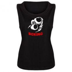 Женская майка Boxing - FatLine