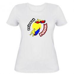 Женская футболка Бойовий гопак - FatLine