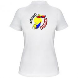 Женская футболка поло Бойовий гопак