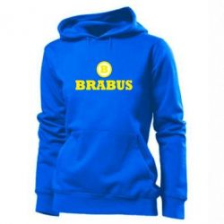 Женская толстовка Brabus - FatLine