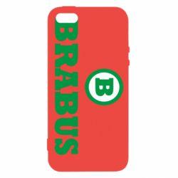 Купить Mercedes, Чехол для iPhone5/5S/SE Brabus, FatLine
