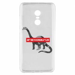 Чехол для Xiaomi Redmi Note 4 Brachiosaurus