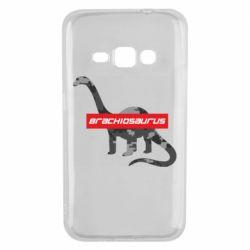 Чехол для Samsung J1 2016 Brachiosaurus