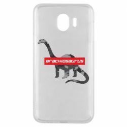 Чехол для Samsung J4 Brachiosaurus