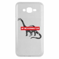 Чехол для Samsung J7 2015 Brachiosaurus