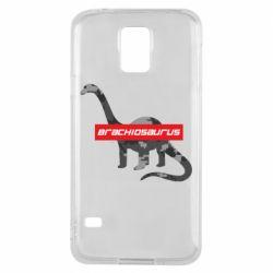 Чехол для Samsung S5 Brachiosaurus