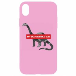 Чехол для iPhone XR Brachiosaurus