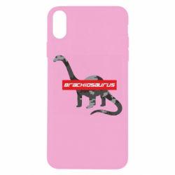 Чехол для iPhone Xs Max Brachiosaurus