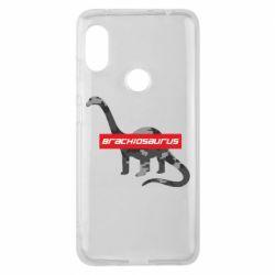 Чехол для Xiaomi Redmi Note 6 Pro Brachiosaurus