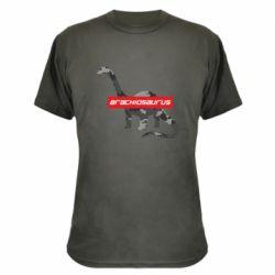 Камуфляжная футболка Brachiosaurus
