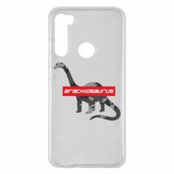 Чехол для Xiaomi Redmi Note 8 Brachiosaurus