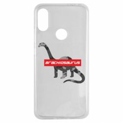 Чехол для Xiaomi Redmi Note 7 Brachiosaurus