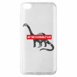 Чехол для Xiaomi Redmi Go Brachiosaurus