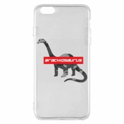 Чехол для iPhone 6 Plus/6S Plus Brachiosaurus